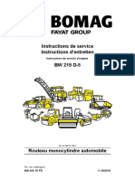 Instruction Service BW2019 D-5