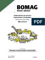 Instruction Service BW2019 D-5