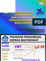 PROGRAM PPM 2015 Dikti Sampaikn