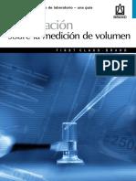 Información Sobre La Medición de Volumen