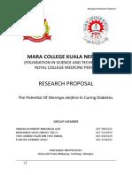 Biology Proposal