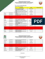 Plan de Trabajo Mensual de Julio 2018