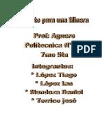 Pro Yec to Entre Gar Aguero