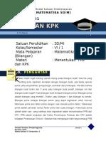 2. Contoh Materi Esensial  FPB dan KPK.doc