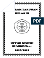 Sampul Program Tahunan
