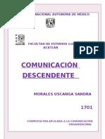 Comunicacion Descendente Morales.uscanga.sandra
