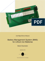 Battery Management System (BMS) for Lithium-Ion Batteries