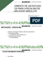Comparação de métodos de upscaling com bordas