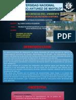 TRABAJO DE OPERACIONES VISITA PTAR PINAR HUARAZ