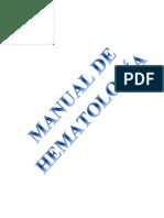 Manual de Prácticas de Hematología