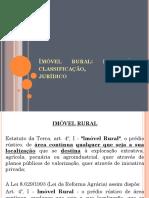 Unidade 03 - Imóvel Rural. Definição, Classificação, Regime Jurídico.
