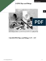 CPVC-PVC Tuberias y Fittings