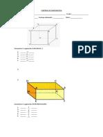 evaluacion geomegtria