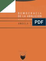 Angela Davis, Democracia de La Abolición