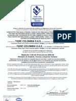 Icontec Resolucion 1166 Tubos y Conexiones Presion El y Jei, Sanitarios, Cpvc