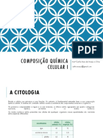 Composição Química Celular I
