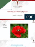 Toxicidad Asociada a Los Opioides