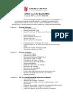 Temario Curso Cajero Bancario - 50 HRS