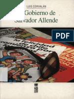 Corvalan Luis El gobierno de Salvador Allende