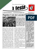 Su La Testa Settembre 2010