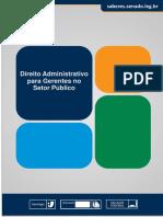 Direito Administrativo para Gerentes no Setor Público