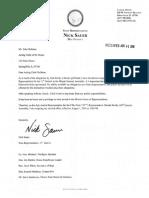 Sauer Resignation