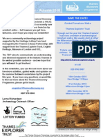 TDP Newsletter Autumn 2010
