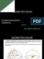 Diagramas de Asoleamiento sol