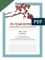PA Team Retreat