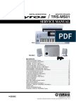 Yamaha Tyros Trs-ms01