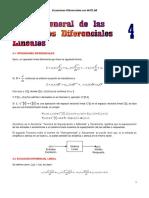 Teoria de las Ecuaciones Diferenciales Lineales