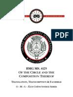 OMS - Èlus Coëns BMG MS 4129