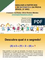 Capacitação de Matemática 2014 Silvio