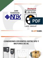 LAPPGROUP OLFLEX Conexiones Eficientes VFD y Motor INTEK Agosto 2015