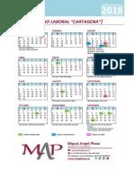 Calendario Laboral Cartagena 2018