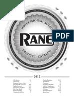 Rane full line catalog.pdf