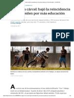 El Rugby en La Cárcel_ Bajó La Reincidencia y Los Presos Piden Por Más Educación -