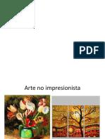 Arte No Impresionista