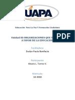 Unidad III Educacion Para La Paz y Formacion Ciudadana