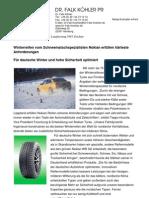 Winterreifen vom Schneematschspezialisten Nokian erfüllen härteste Anforderungen - Für deutsche Winter und hohe Sicherheit