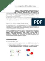 Tema 5. Errores Congénitos Del Metabolismo G(25.02.15)