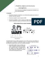 Tema 4. Modelos Atípicos de Herencia Monogénica. a (27.02.15)