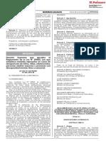 Reglamento de La Ley 29685, Sobre Desaparicion de Niños, Niñas y Adolescentes y Personas Mayores