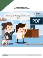 Estrategia de Participacion Ciudadana 2018