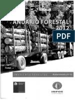 Anuario Forestal 2012