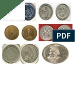 Billetes y Monedas de Guatemala Antiguas