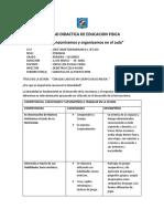 Unidad Didactica de Educacion Fisica 2018 Primaria1 Ccesa007