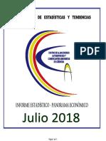 Panorama Economico Julio 2018