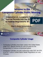 Composite Cylinder Public Meeting Presentation