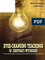 The Ever Changing Teachings of Jehovah s Witnesses